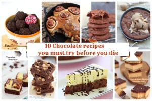 10 chocolate recipes 1