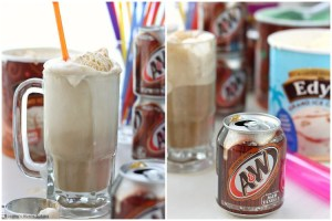 A&W Root Beer Floats