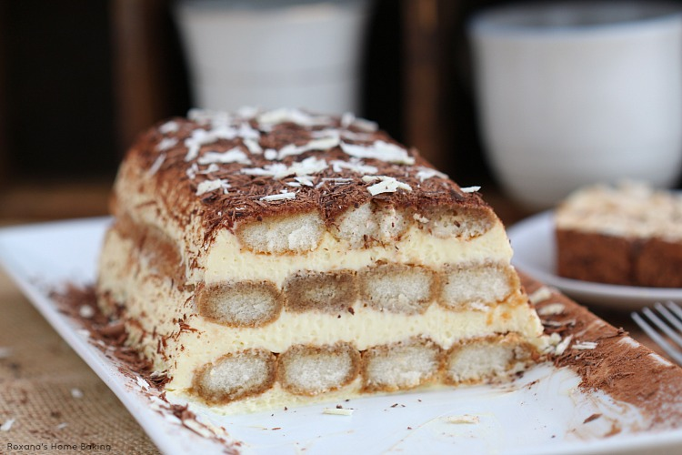 Making Tiramisu With Pound Cake