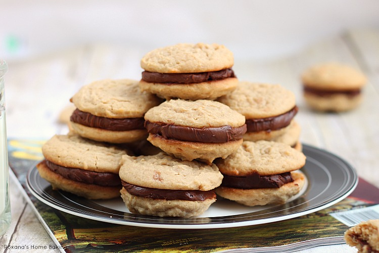 Fudge filled irresistible peanut butter cookies recipe