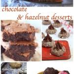 50 chocolate and hazelnut desserts