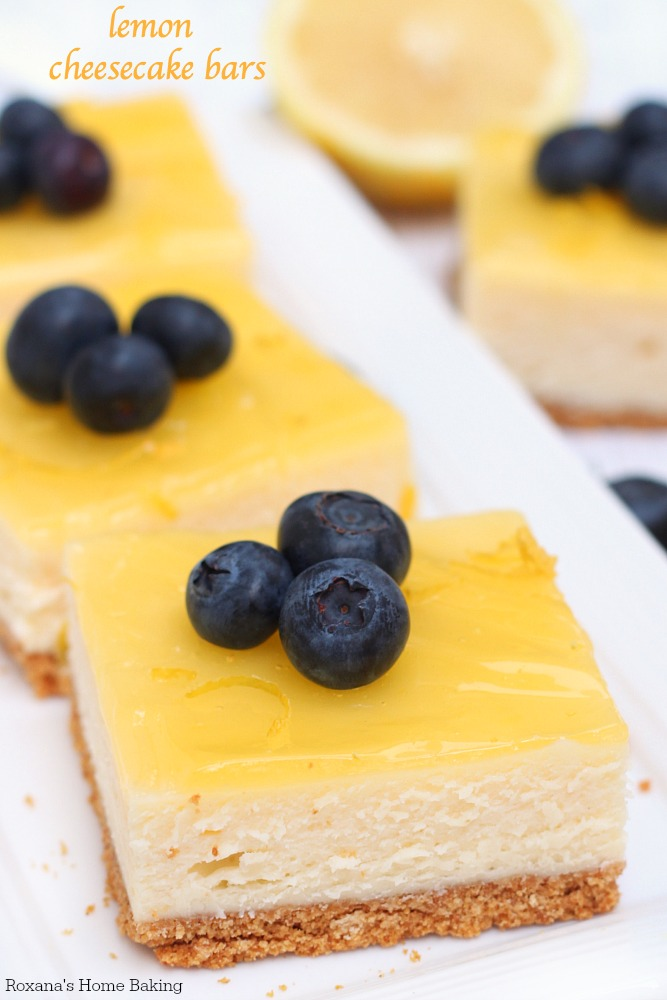 ... that stop you from enjoying these lemon cheesecake bars year round