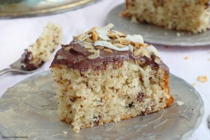 grated chocolate coconut cake chocolate ganache recipe