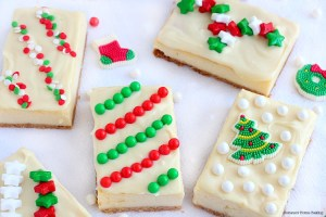 holiday cheesecake presents recipe