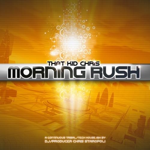 MORNING RUSH CD COVER (THAT KID CHRIS NYC)