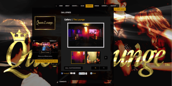 QUEEN LOUNGE WEBSITE – A COMBINATION OF LEATHER, GOLD & LED LIGHTS IS ONE MORE CREATION OF ROXX MARINO
