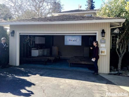 In the Garage Where Google Was Born