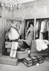 Gina Lollobrigida loves clothes and suitcases