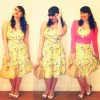 Roxy Vintage Style Collectif Fairy Summer Bouquet Doll Dress