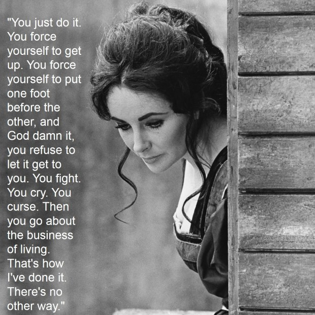 Liz Taylor life advice