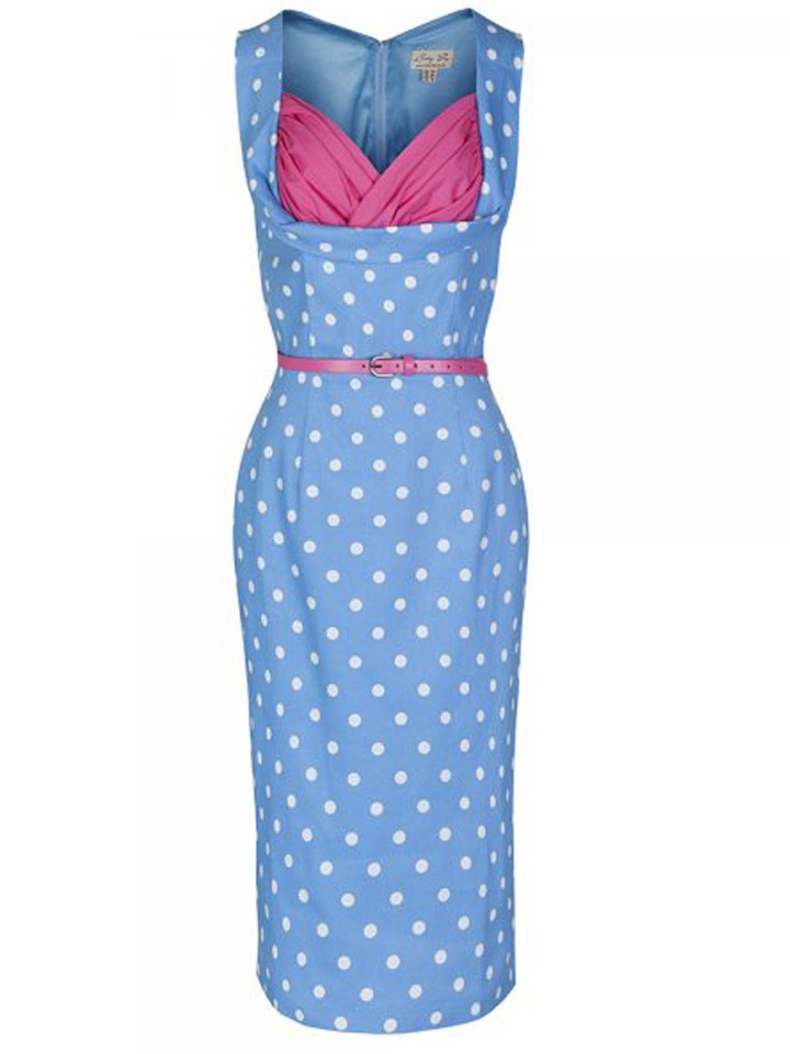 Lindy Vop Vanessa Pastel Dress