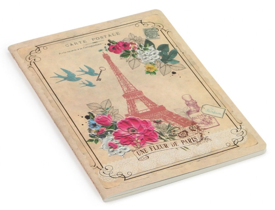 Paris exercise book Paperchase