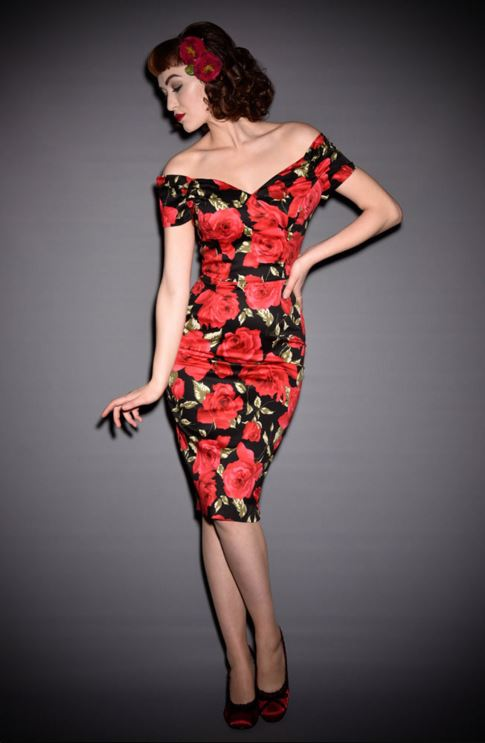 RVS Fatale Sorrento Rose Dress