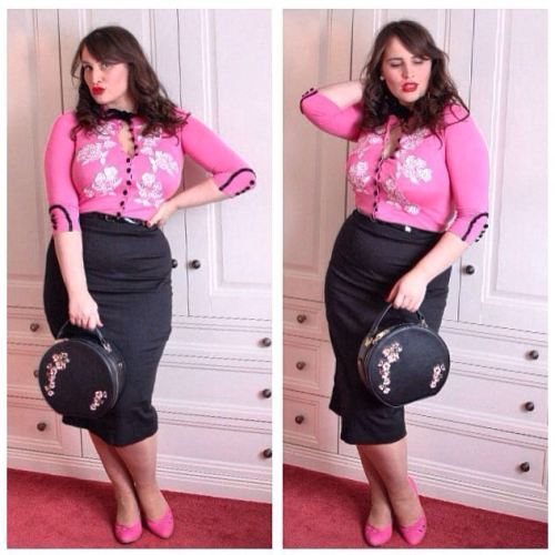 Roxy Vintage Style Outfit Of The Day pink