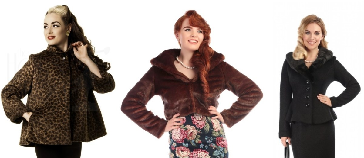 winter pinup fashion jackets