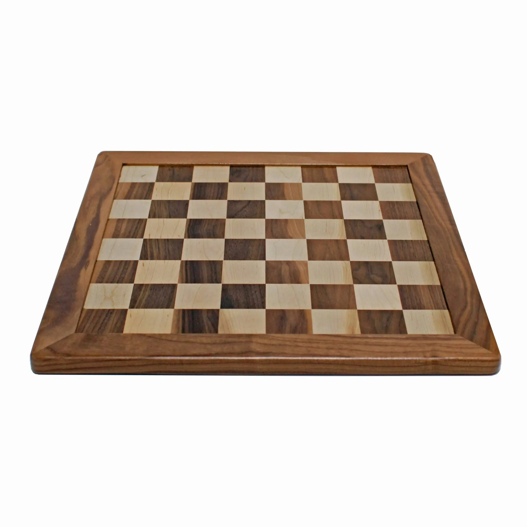 Chess Board Sale Classic Chess Board Solid Walnut And Maple Wood 18 In