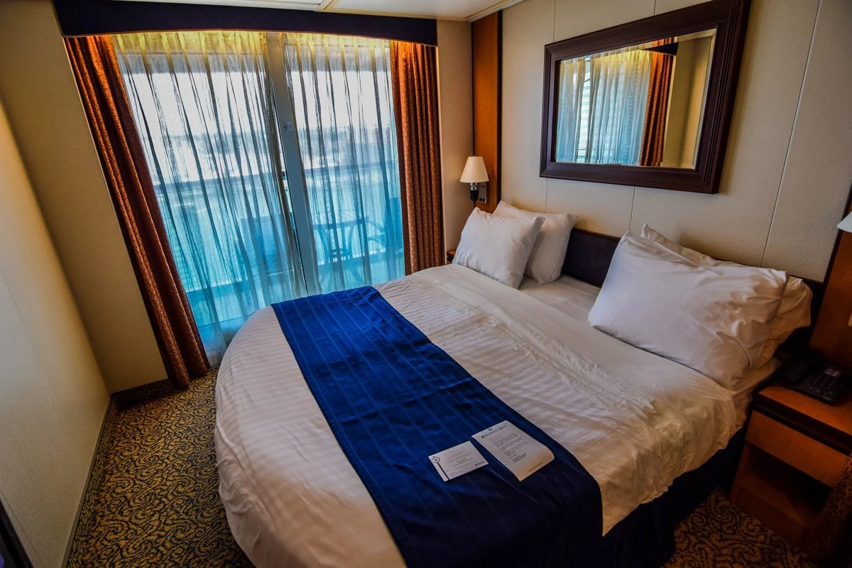 Small Couch Bed Photo Tour Of Category 5d Ocean View Stateroom With