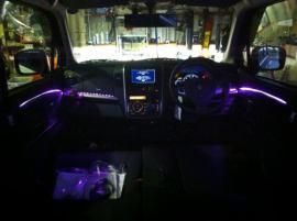 ワゴンR スティングレー 室内LED