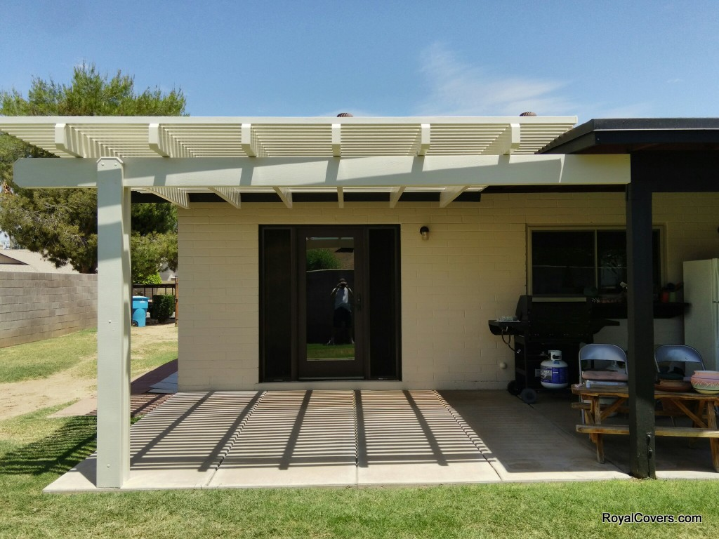 Garage Awning Extension Alumawood Patio Cover Extensions In Phoenix