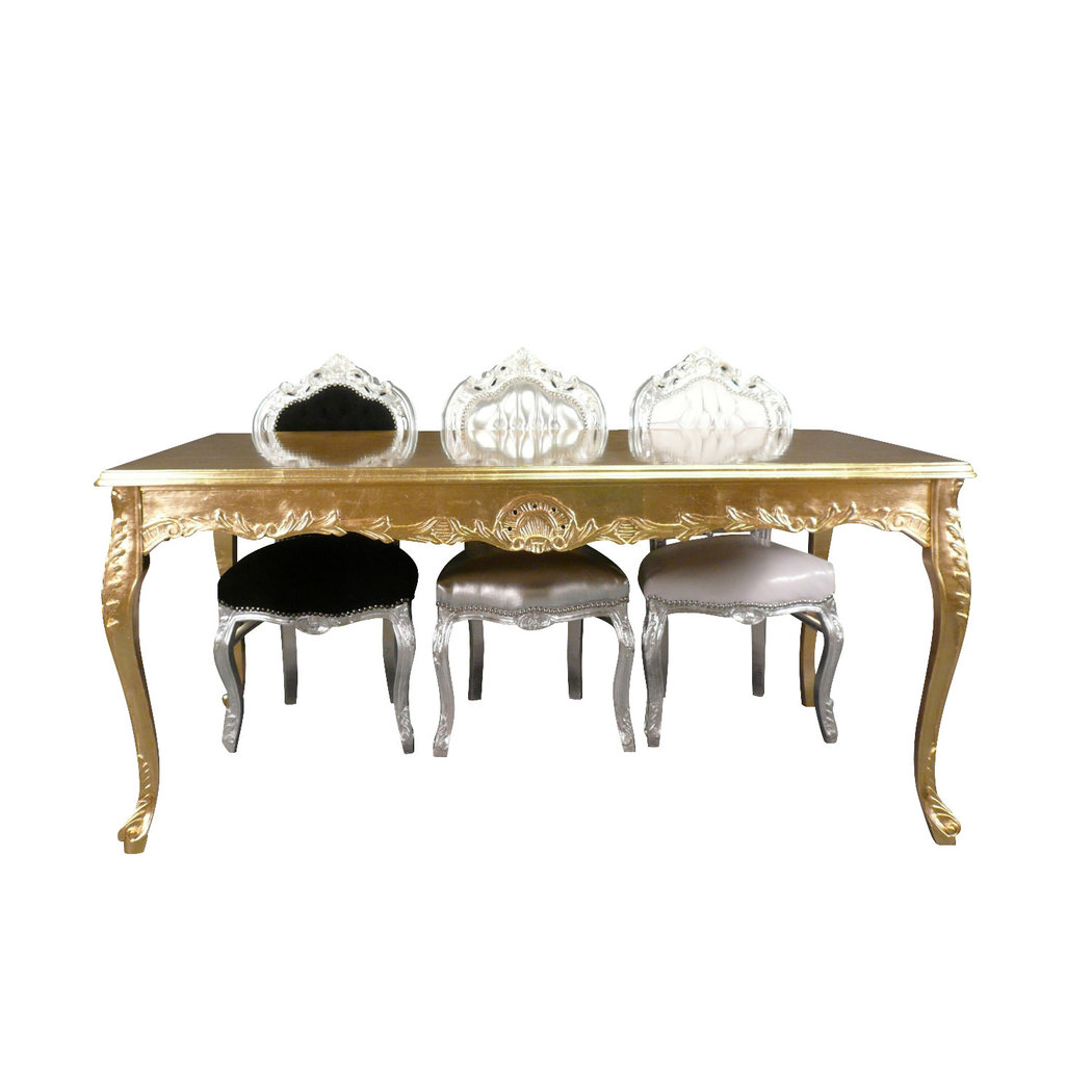 Decoration De Table Baroque Table Baroque En Bois Doré Meuble Baroque