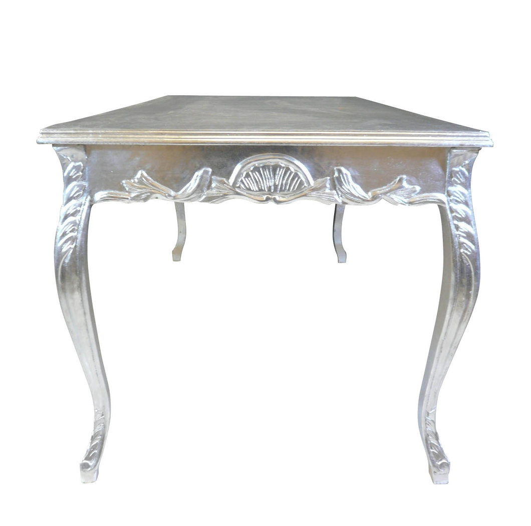 Decoration De Table Baroque Table Baroque Argentée Chaise Baroque