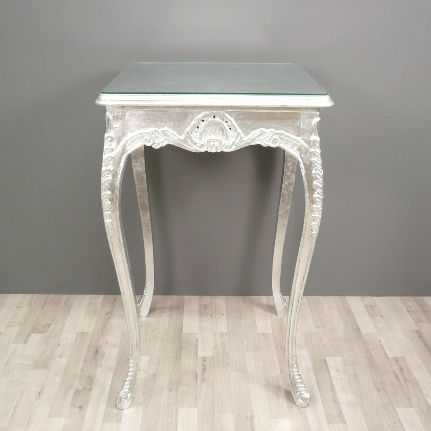 Decoration De Table Baroque Table Baroque De Bar Argentée Meuble Baroque
