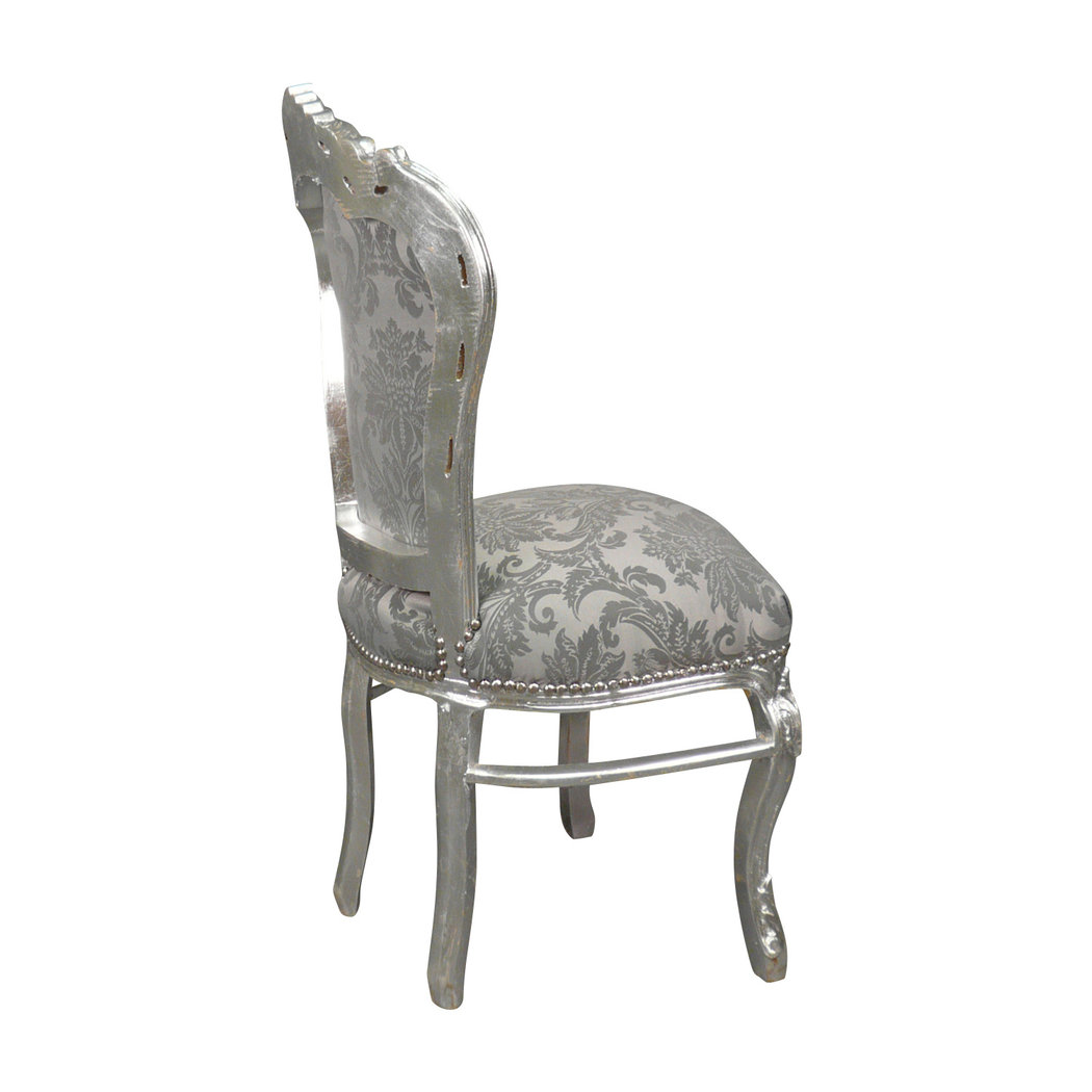 Chaises Baroque Chaise Baroque Argent Rococo Meuble Baroque