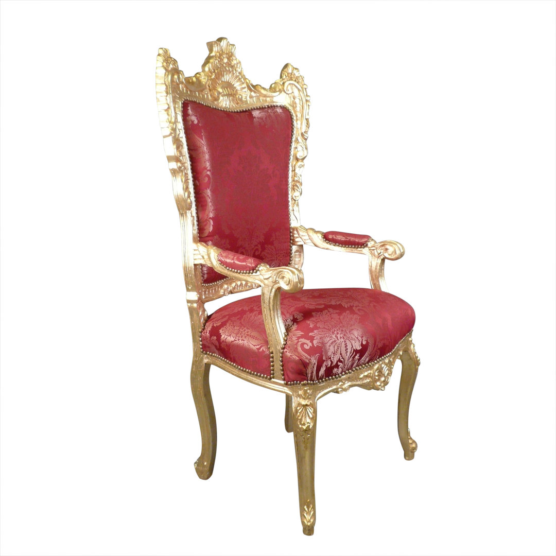 Barock Sessel Rot Barock Sessel Rot Und Gold Thron