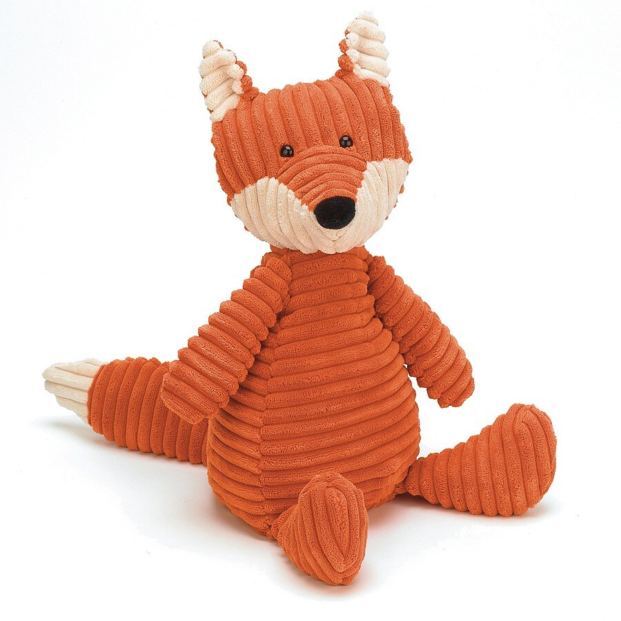 Cordy Roy Fox Stuffed Animal Medium Jellycat Royaldesign