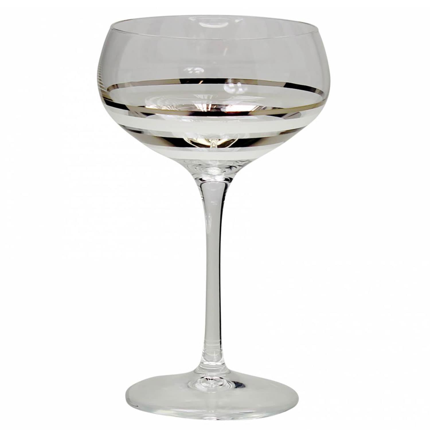 Champagne Coupe Versailles Champagne Coupe Set Of 2 Silver White