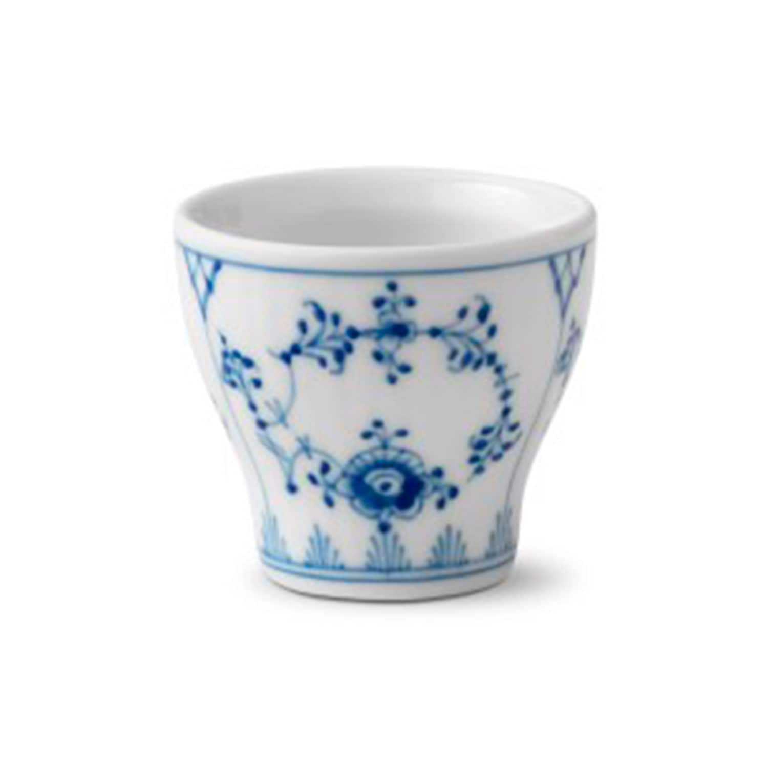 Royal Copenhagen Geschirr Blue Fluted Plain Eierbecher