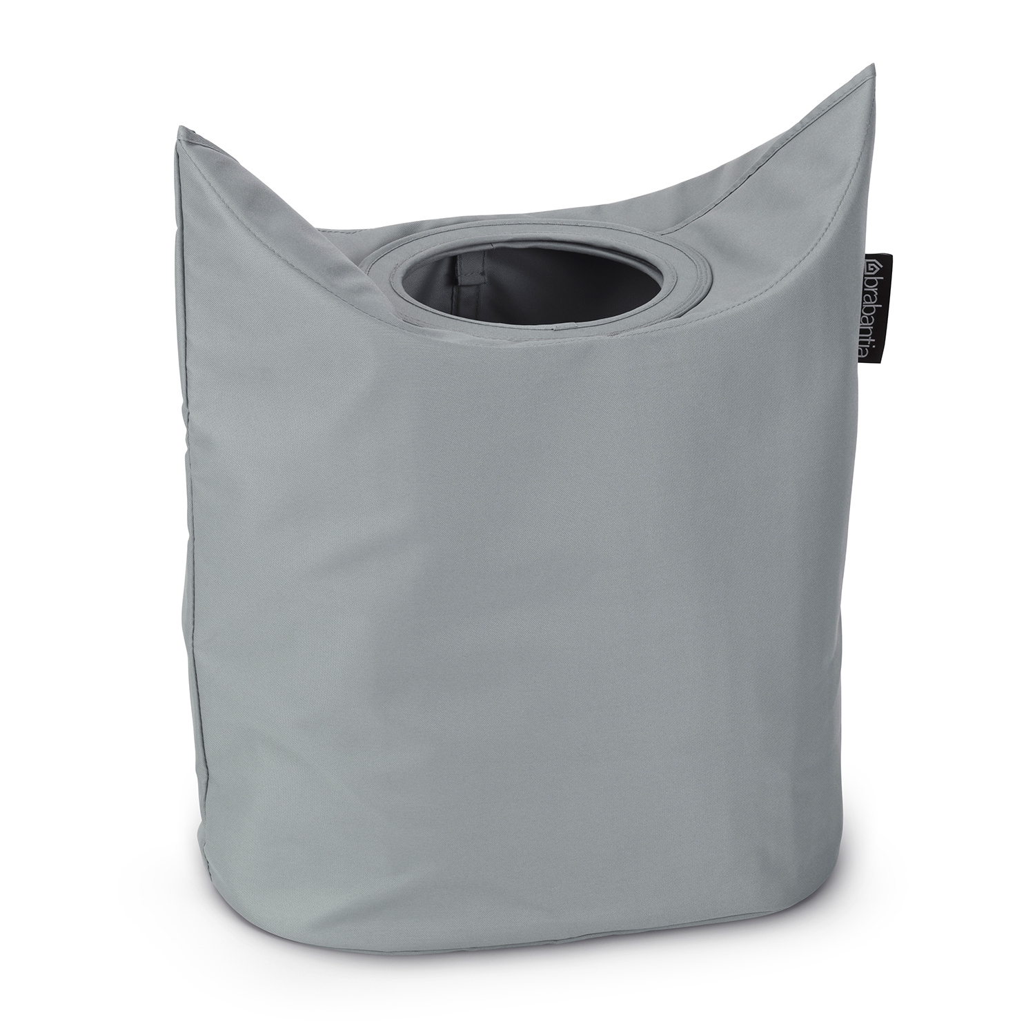 Carry Laundry Bag Brabantia Tvättkorg Oval Cool Grey Brabantia