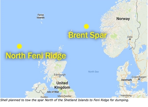 brent spar case Brent spar, or brent e, was a north sea oil storage and tanker loading buoy in  the brent oilfield,  retrieved 10 march 2005 ^ case study: brent spar (pdf.