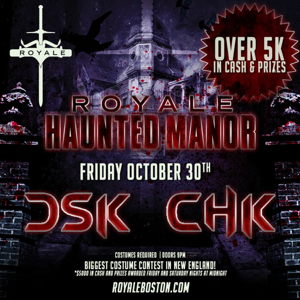 Dsk Doors Friday Haunted Manor Royale Boston