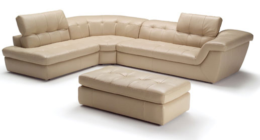 Sofa Restposten Jnm – 397 Italian Leather Sectional – Royal Furniture