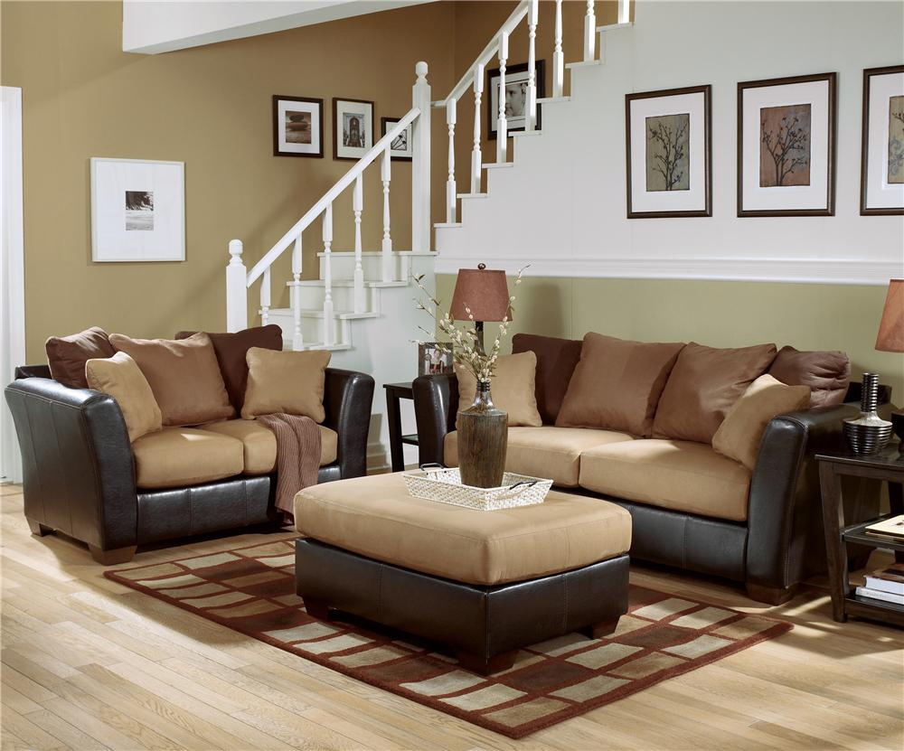 Living Room Sofas Sets Ashley Furniture – Signature Design – Lawson Saddle Living