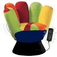 Lumisource  Vibrating Mitt Chair  Royal Furniture Outlet ...