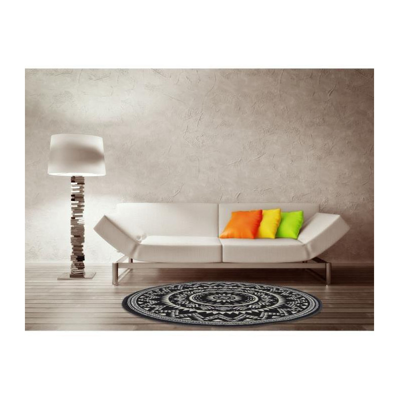 Luxus Tapis De Salon Contemporain Rond 120x120cm