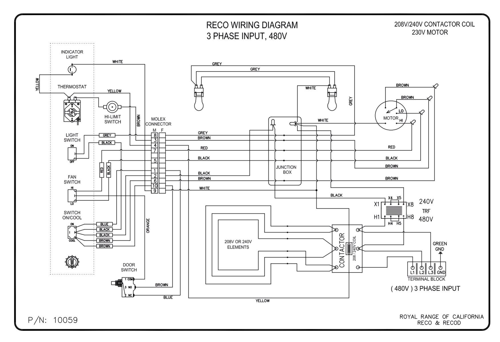 480v schematic wiring