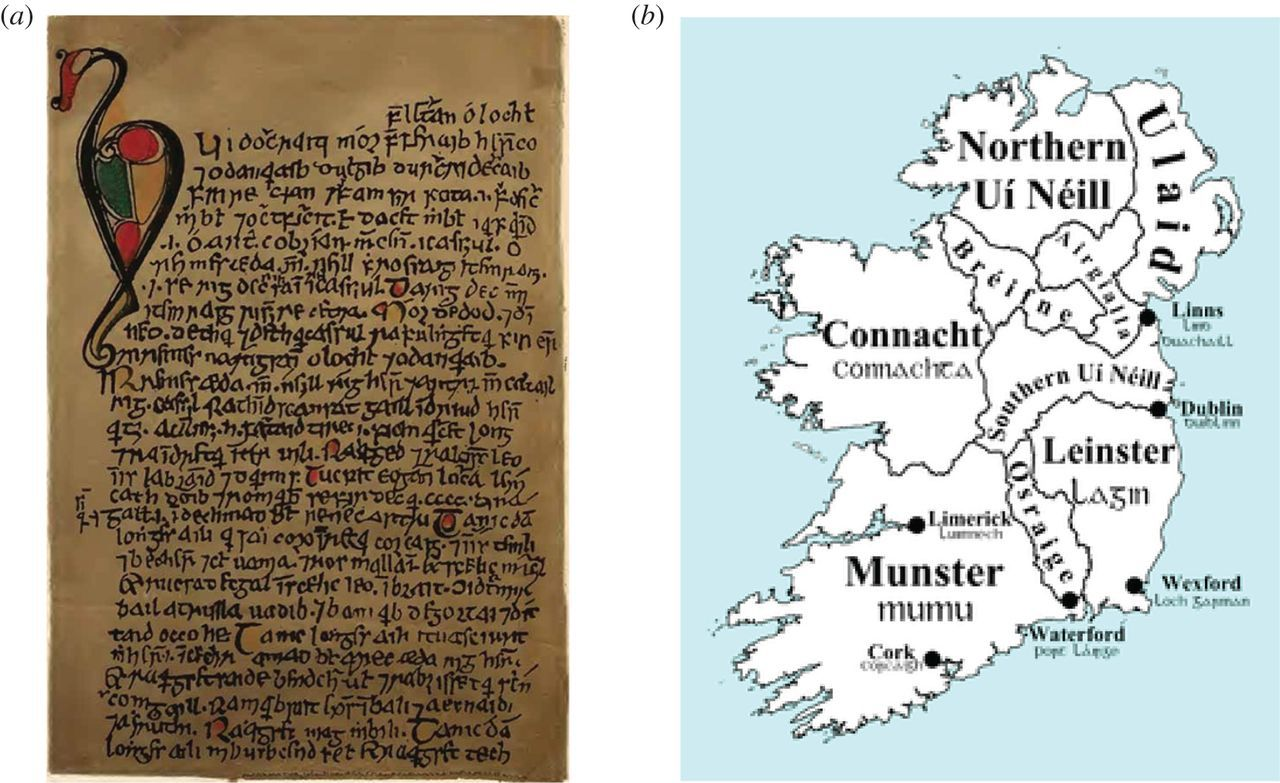 Arte Johnson Age Network Analysis Of The Viking Age In Ireland As Portrayed In