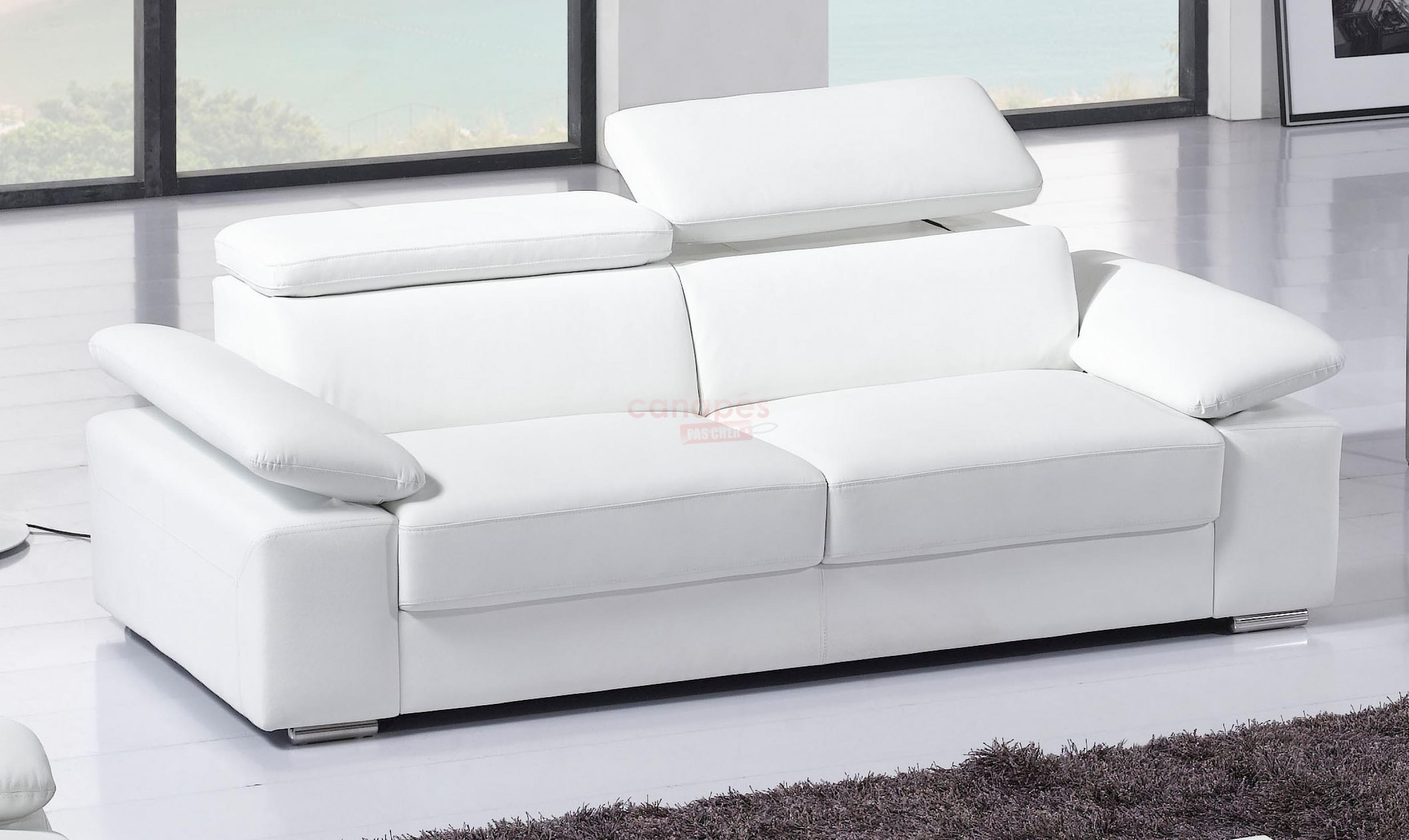Canapé 3 Places Convertible Canapé Convertible 4 Places Cuir Royal Sofa Idée De