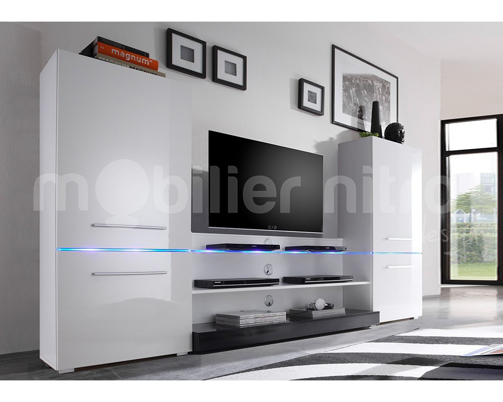 Grand Meuble Tv Design Grand Meuble Tv Blanc Ensemble Meuble Tv Blanc Lepetitsiam