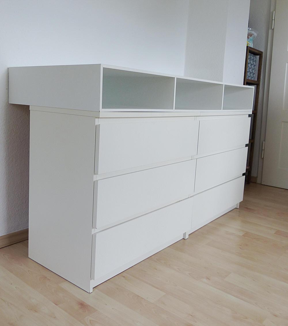 Ikea Kommode Zu Wickeltisch Kraftkids Wickelaufsatz Weiss Passend
