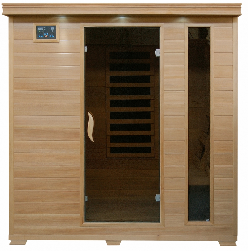 Sauna 24 Monticello Hemlock 4 Person Sauna With Carbon Heaters