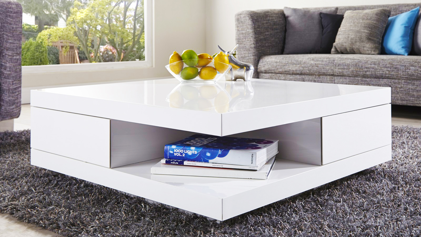 Small Square Coffee Table With Storage How To Set Living Room Coffee Tables Properly Part1