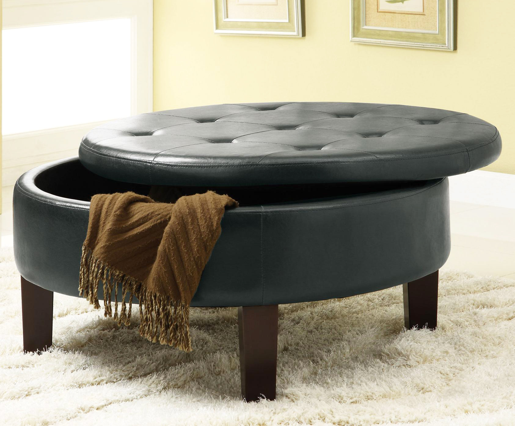 Soft Coffee Table With Storage Tufted Coffee Table For Elegance Creativity And Luxury
