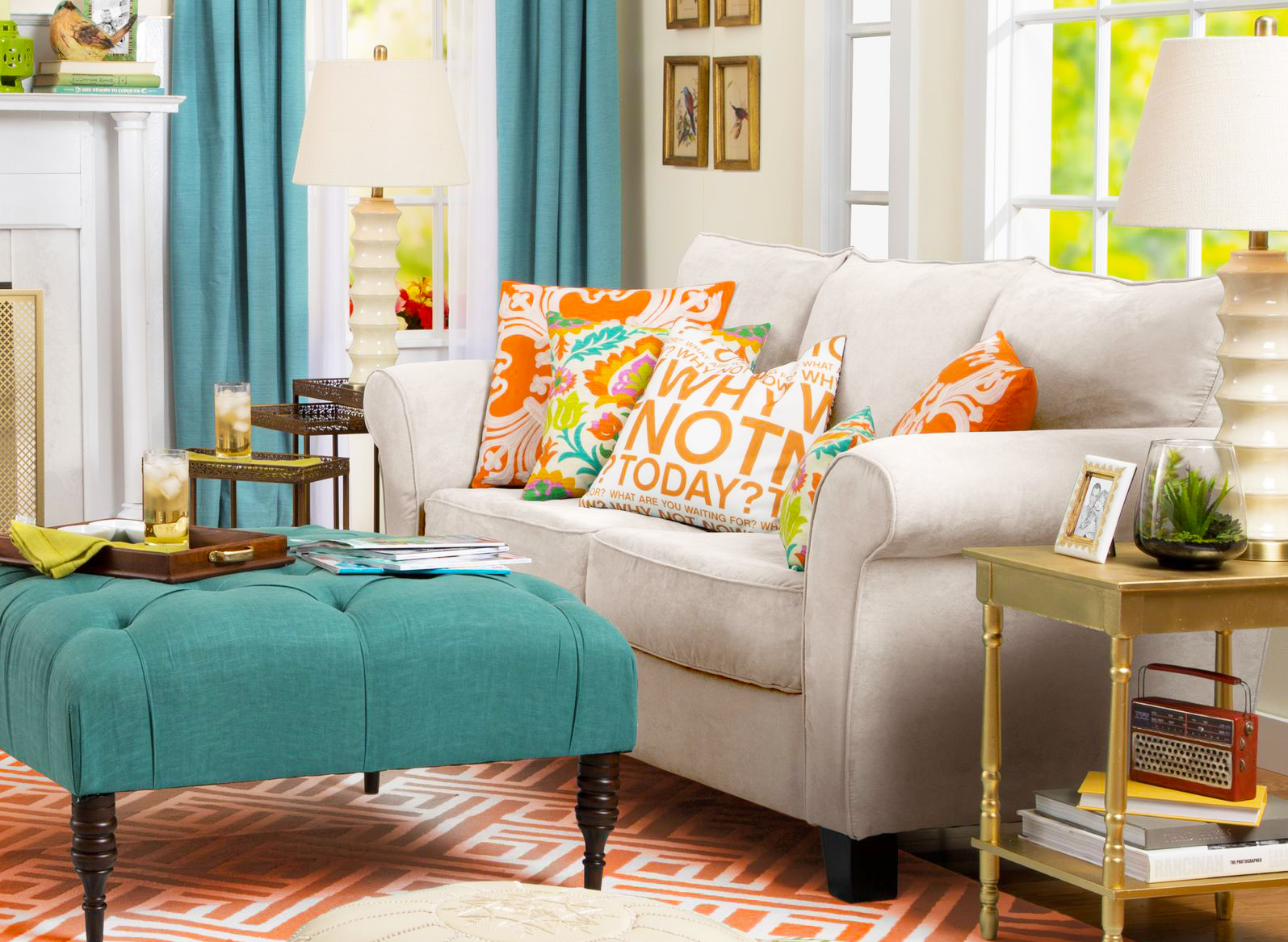 Living Room Ottoman Three Furniture Arrangement Tips That Will Make Room Looks