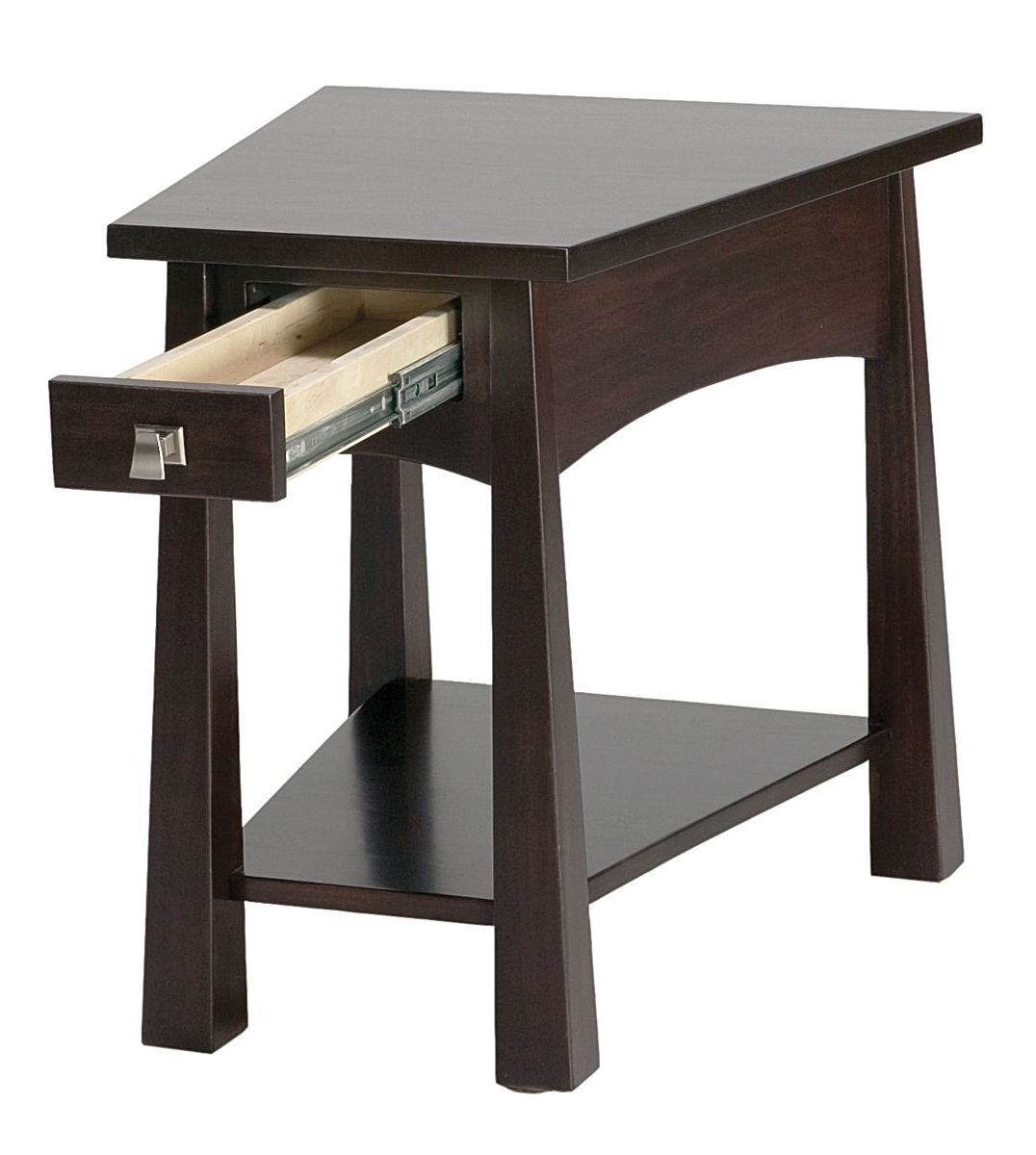 Black Modern Side Table Living Room End Tables Furniture For Small Living Room