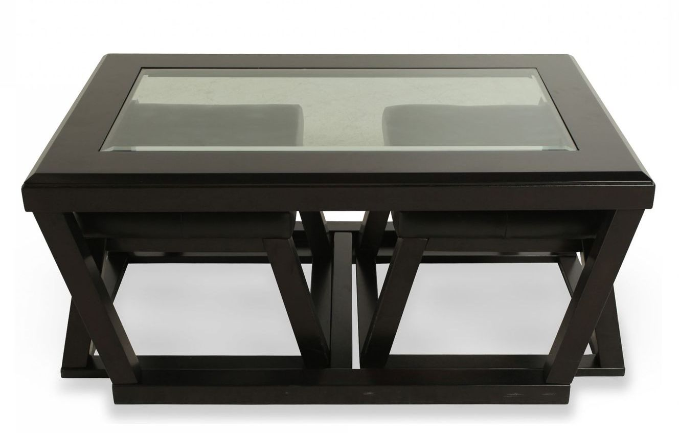 Coffee Tables With Ottomans That Pull Out Coffee Table With Pull Out Ottomans Roy Home Design