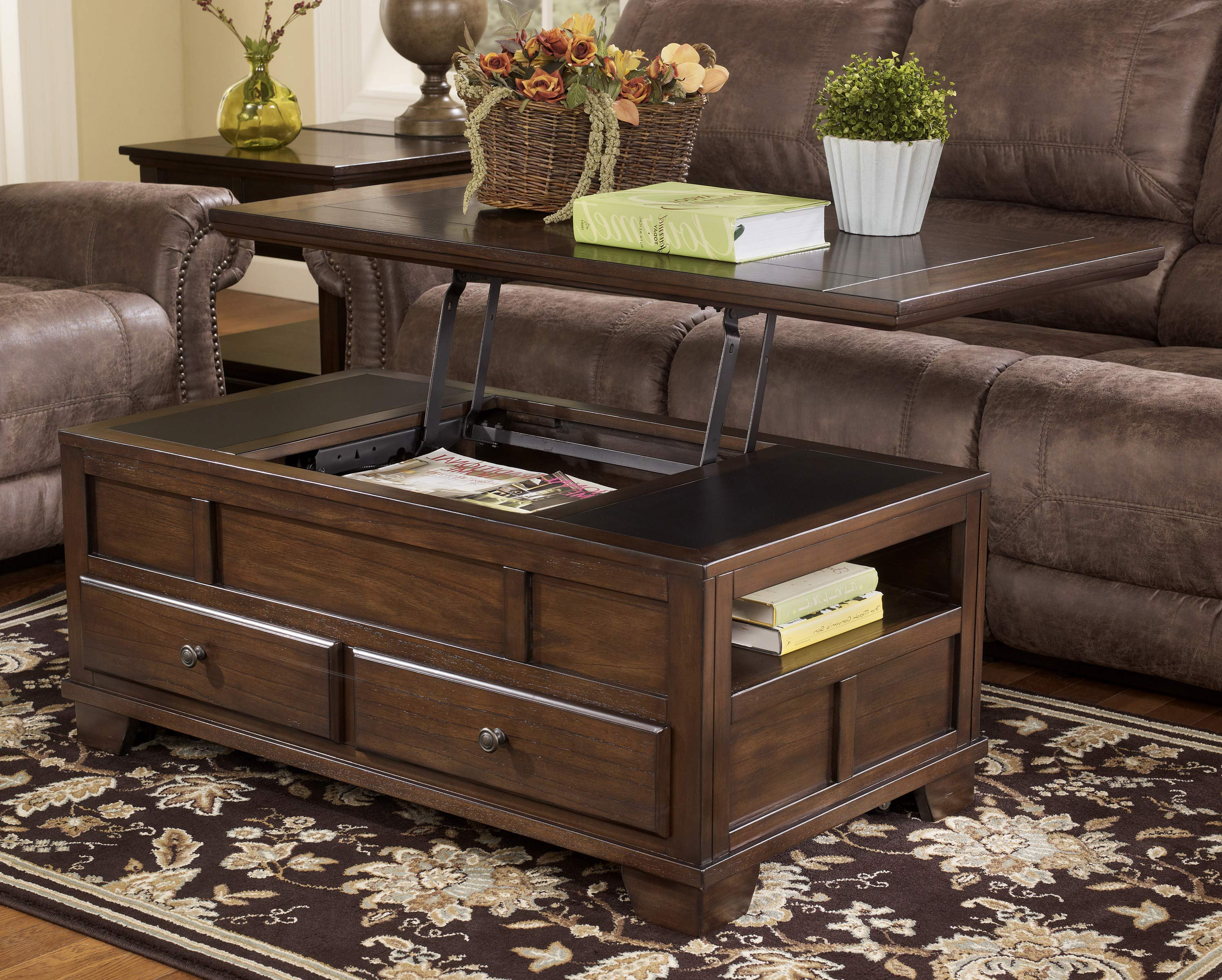 Top Lift Coffee Table Lift Top Coffee Tables With Storage Roy Home Design